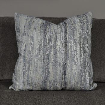 mixed gray shades textured pillow