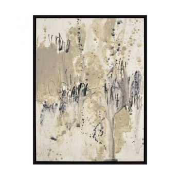 brown black and gray splatter abstract art